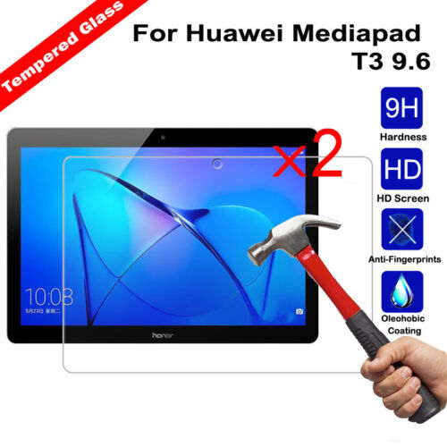 2Pcs Tempered Glass Screen Protector for Huawei Honor Pad 5 Tablet T5 8.0 Tablet