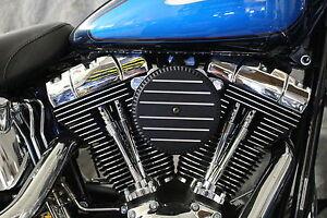 Air Filter Cover Fits Harley Davidson Big Sucker Stage 1 BIO HAZARD design