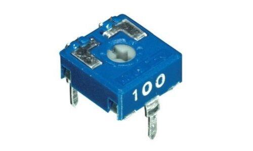 AB//062100 4pz trimmer 10x10 10 KOhm orizzontale regolazione con cacciavite cod