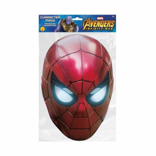 Avengers Infinity War Iron Spider Character Face Celebration Parties Mask Marvel