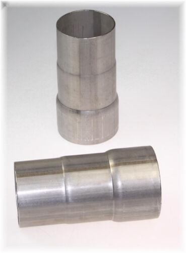 Auspuff Reduzierungsstück Adapter Rohrverbinder 60-65-67mm V2A Edelstahl 1 St