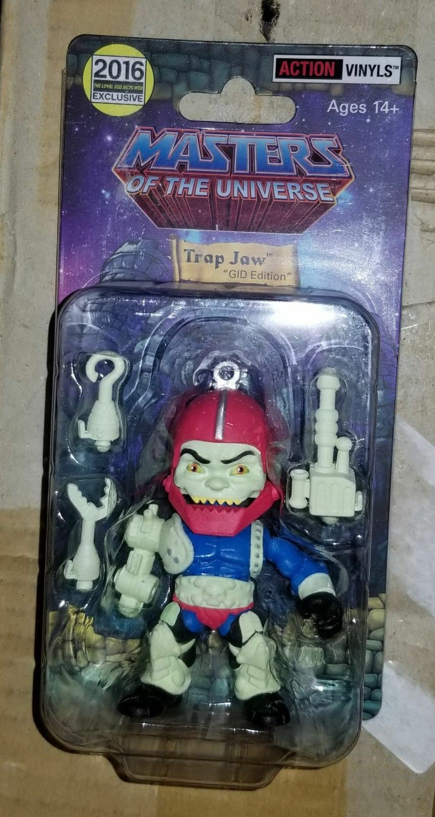 Loyal Subjects Glow in the Dark Trap Jaw Masters of the Universe MOTU