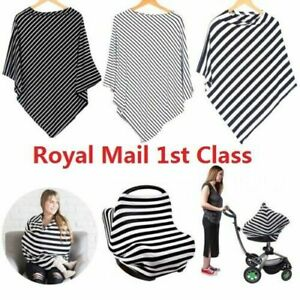 79ef2b842ce01 5 in 1 Nursing Scarf Cover Up Apron for Breastfeeding Baby Car Seat ...