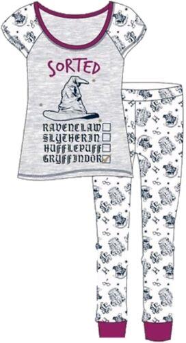 Damen Schlafanzug Set Harry Potter Lang 8-22 Charakter Schlafanzüge