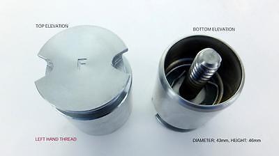 REAR Brake Caliper Piston P3411I WITH INTERNALS for VAUXHALL CORSA 2000-2006