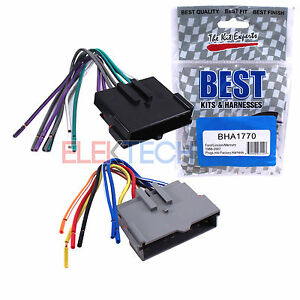 Details about Best Kits BHA1770 Aftermarket Radio Wire Harness 8-PIN on mercury wiring diagrams, mercury voltage regulator, mercury tach wiring, mercury wiring color code, mercury harness part number,