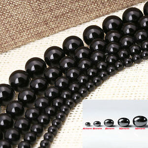 4-6-8-10-12MM-Black-Hematite-Round-Ball-Spacer-Beads-Magnetic-Wholesale