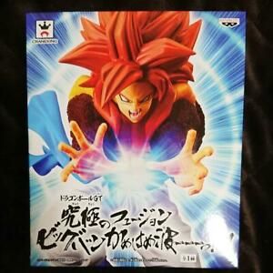 Details About Banpresto Dragon Ball Gt Ultimate Fusion Big Bang Kamehameha Figure Ss4 Gogeta