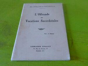 RELIGION-L-039-OFFRANDE-DES-VOCATIONS-SACERDOTALES-ABBE-THELLIER