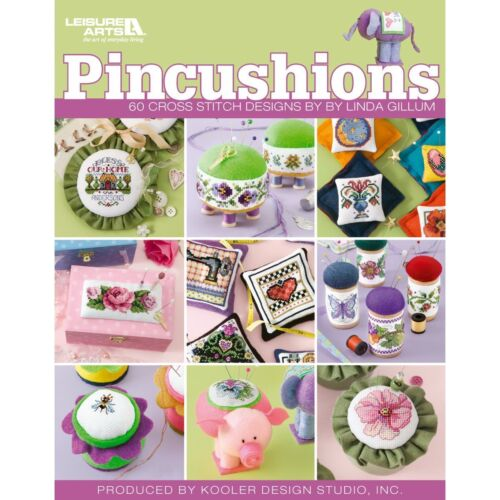 Pincushions Cross Stitch Chart Booklet 60 Designs Linda Gillum