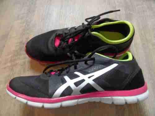 Neon Nova Gr 39 Gel Schwarz Asics fit Neu Pn217 Coole Sneakers 5 W HwqxaIY