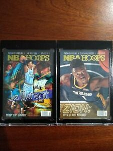 2019-20-Hoops-Rookie-Special-Zion-Williamson-amp-Ja-Morant-Pack-fresh