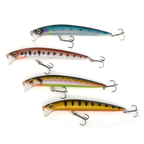 NEW Cabo Multi Colored Crankbait Surfin' Minnow for Freshwater Hard Lure