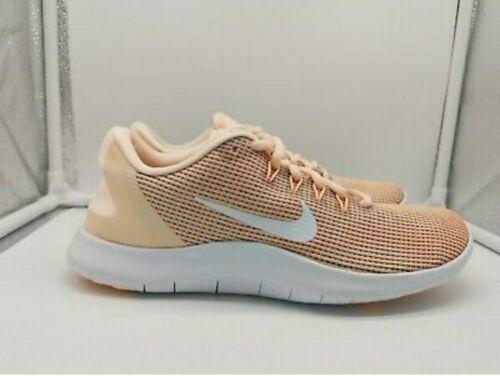 Nike Wmns Flex rn 2018 mujer nuevo Carmesí Blanco Rosa Correr AA7408-800 Reino Unido 2.5