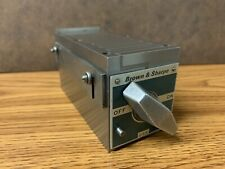 Brown And Sharpe Fine Pole Magnetic Block 255 Machinist Tools