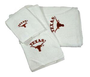 University Of Texas Longhorns 3 Piece, Texas Longhorn Bathroom Set