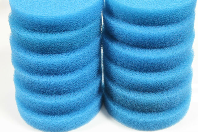 Pack of 12 Blue Coarse Foam Filter Pads Fit Eheim Classic 2217 / 600 2616175