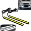 2* Super Bright COB White Car LED Lights for DRL Fog Driving Lamp Waterproof 12V