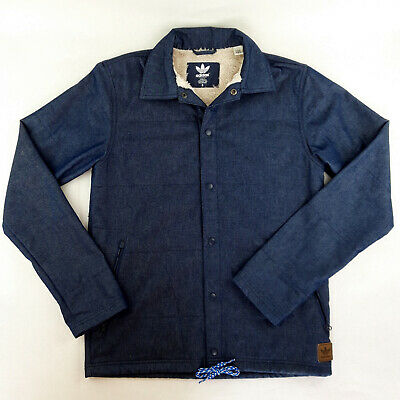Adidas Homme Chambray Sherpa Veste Collegiate Navy taille S | eBay