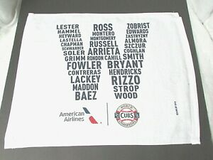 NEW-Chicago-Cubs-2016-AMERICAN-AIRLINES-WORLD-SERIES-CHAMPIONS-TEAM-TOWEL