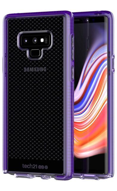 Tech21 Evo Check Case Cover for Samsung Galaxy Note 9 - Ultra Violet Purple !!!