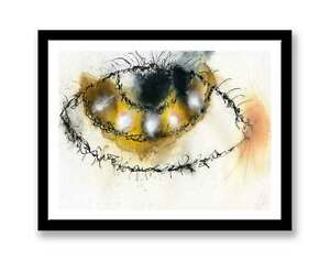 Hazel-eye-Watercolour-abstract-painting-unique-gift-Print-ID-790