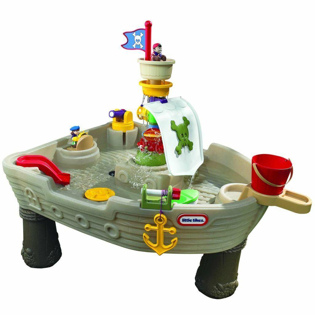 Little Tikes Bateau de pirate à ancrage éloigné pour enfants de 1,5 à 5 ans