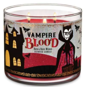 New-HALLOWEEN-VAMPIRE-BLOOD-3-wick-Candle-Bath-amp-Body-Works-Ships-Free