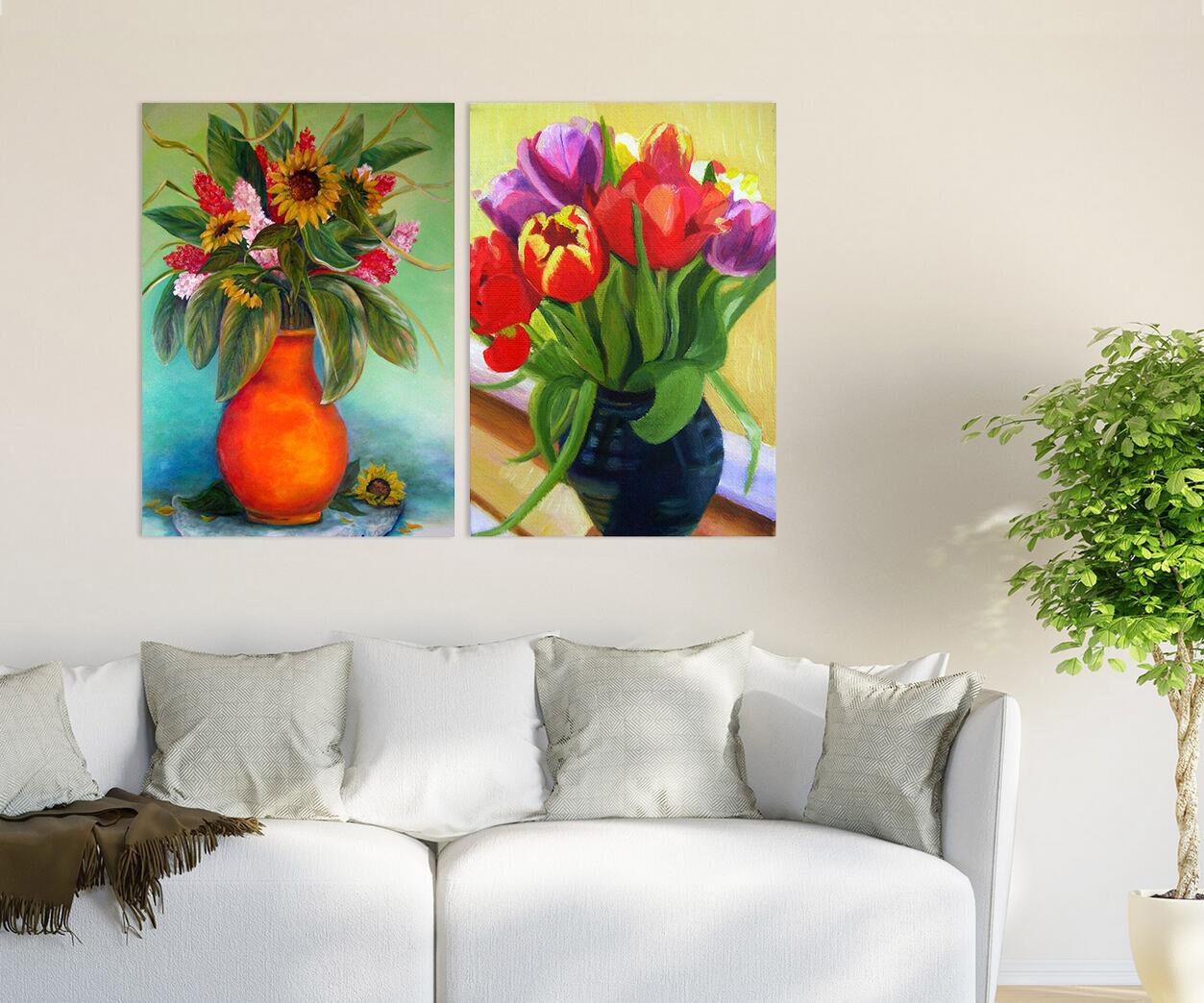 3D Helle Sonnenblume Blume 9575 Fototapeten Wandbild BildTapete AJSTORE DE Lemon