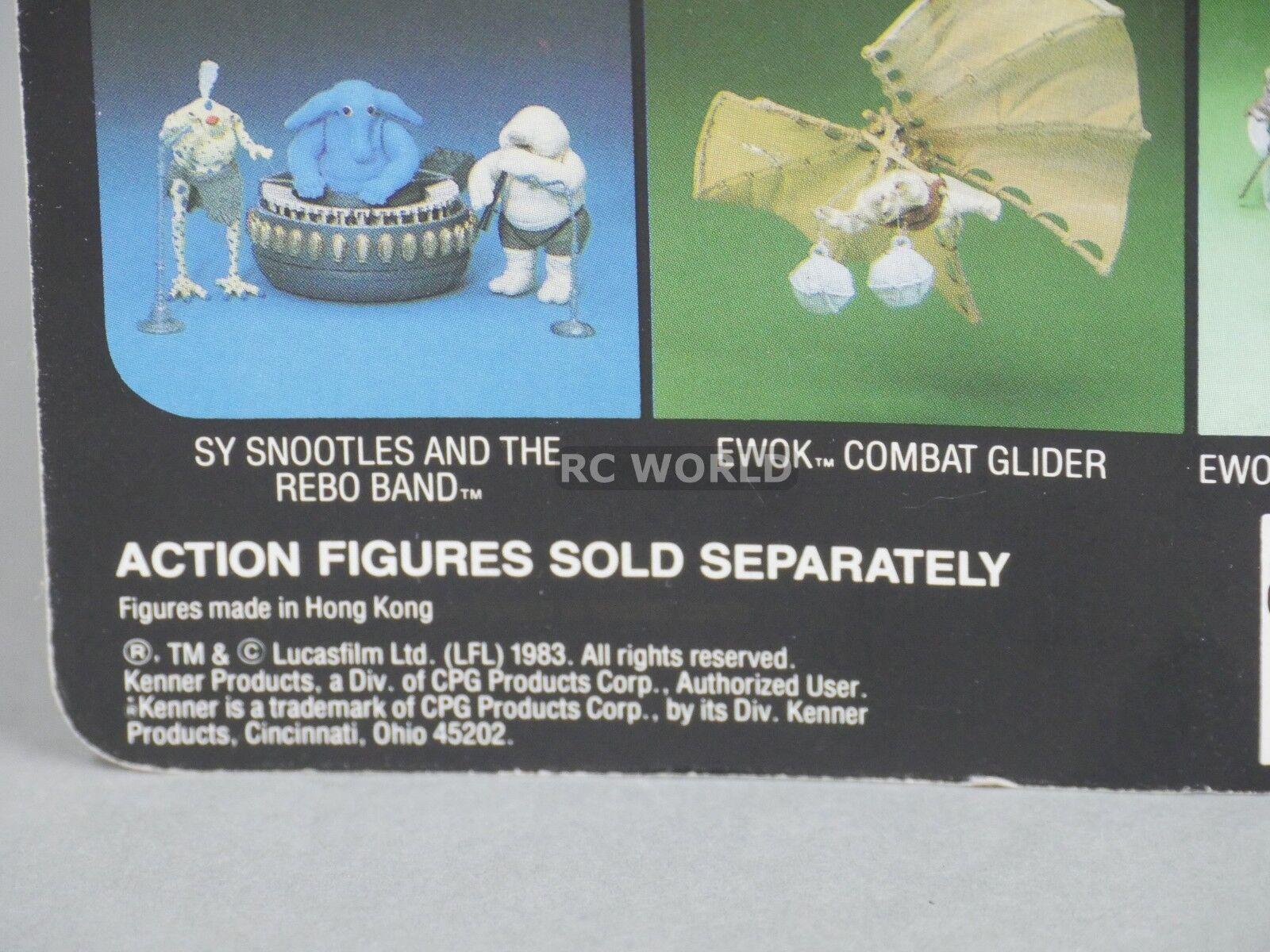 Vintage 1983 Star Wars PRUNE FACE Unpunched  Action Figure Figure Figure Return Of Jedi    e3a 9932d6