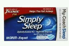 Tylenol Simply Sleep 100ct 1/18+ No box