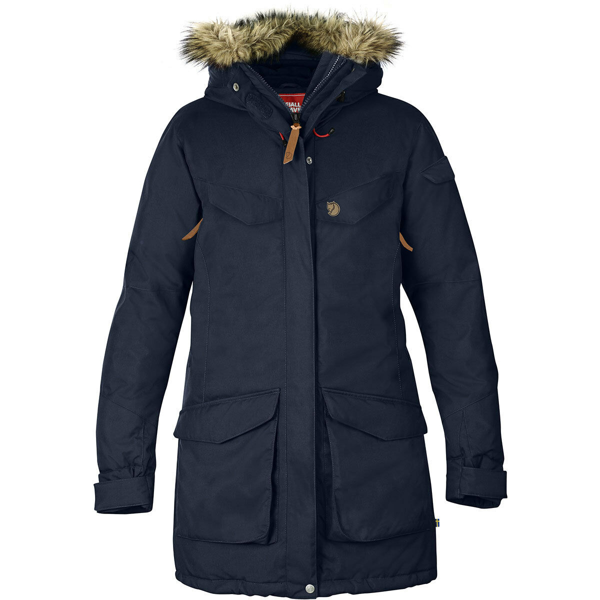 Fjällräven  Nuuk Parka Womens XL warmer you will hardly. highly insulating filling NEW  save 60% discount