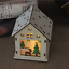 LED-Light-Wood-HOUSE-Cute-Christmas-Tree-Hanging-Ornaments-Holiday-Decoration thumbnail 16