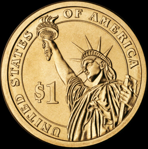 """2011 P Andrew Johnson Presidential Dollar /""""Brilliant Uncirculated/"""" Coin"""