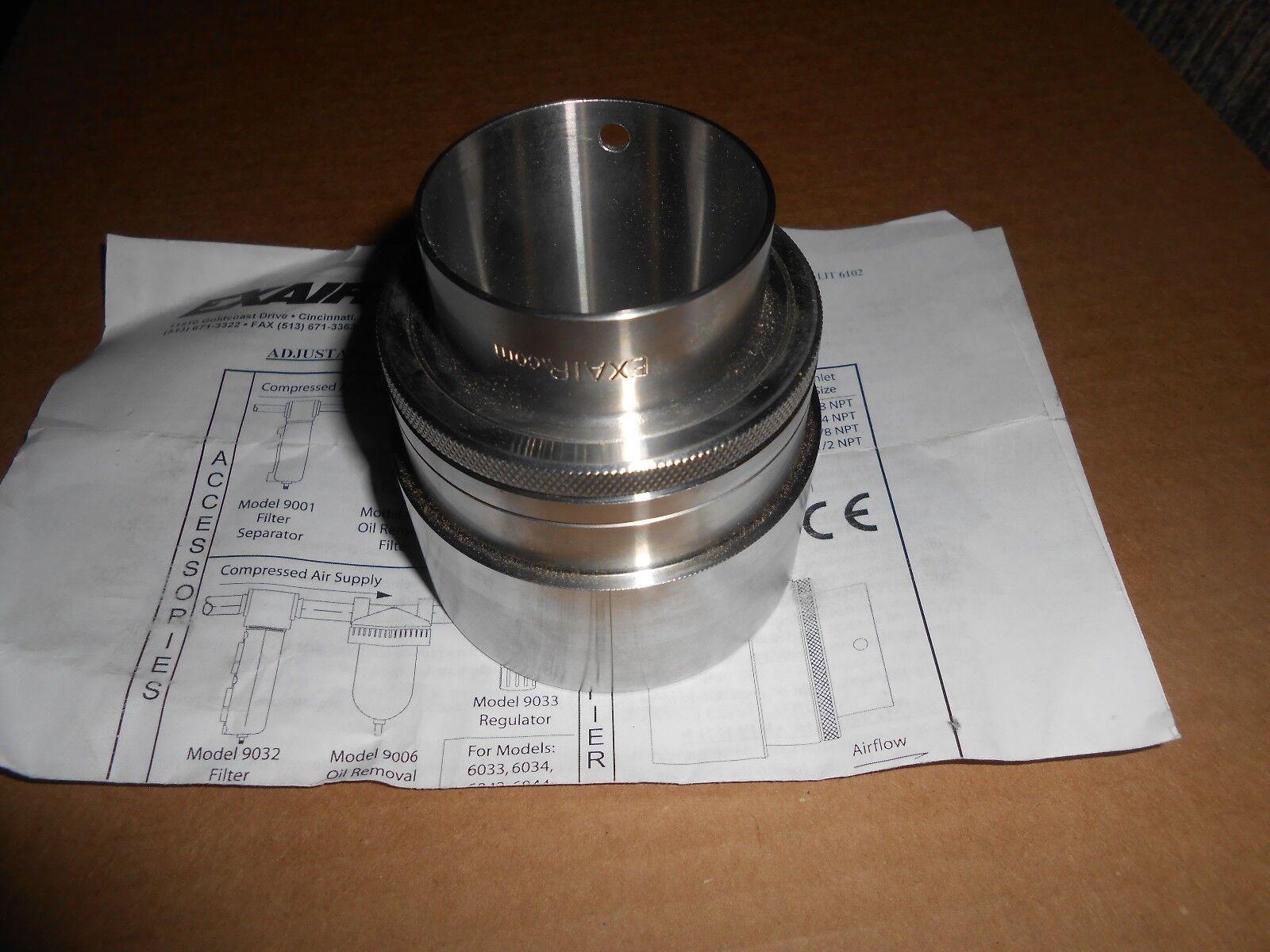 EXAIR X081098 Air Amplifier, 2 In Inlet, 21.5 CFM