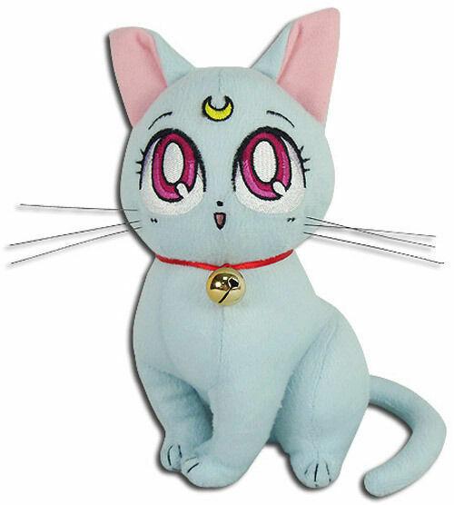 Sailor Moon Super S New Great Eastern GE-52655 Diana Cat Stuffed Plush Doll