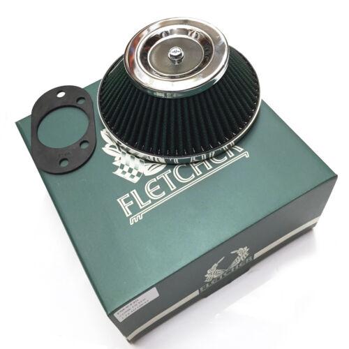 "FLETCHER CLASSIC ROVER AUSTIN MINI 1.75/"" HIF44 SU CARB CONE AIR FILTER Y3500"