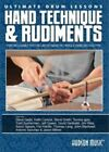 Ultimate Drum Lessons - Hand Technique And Rudiments (DVD, 2013)