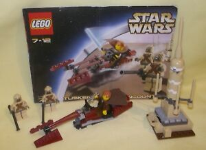 Lego Star Wars 7113 Tusken Raider Encounter INSTRUCTIONS ONLY No Lego Bricks
