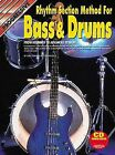 Rhythm Section Method for Bass and Drums by Stephan Richter and Craig Lauritsen (1997, CD / Paperback)