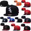 thumbnail 1 - Classic Unisex Embroidery MLB Baseball Hat Flat Brim Team Snapback Sports Cap
