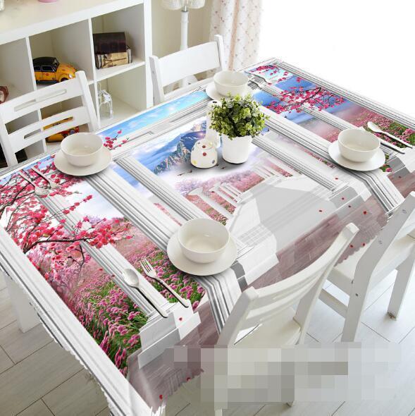 3D Corridor 55 Tablecloth Table Cover Cloth Birthday Party Event AJ WALLPAPER AU