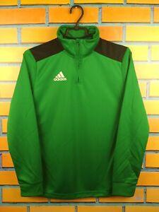 Adidas Football Jacket Size Youth 13-14 Full Zip Soccer Football
