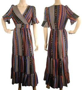 Flora Conmigo Beautiful Aa010a Colourful Dress Maxi RaxPtqw