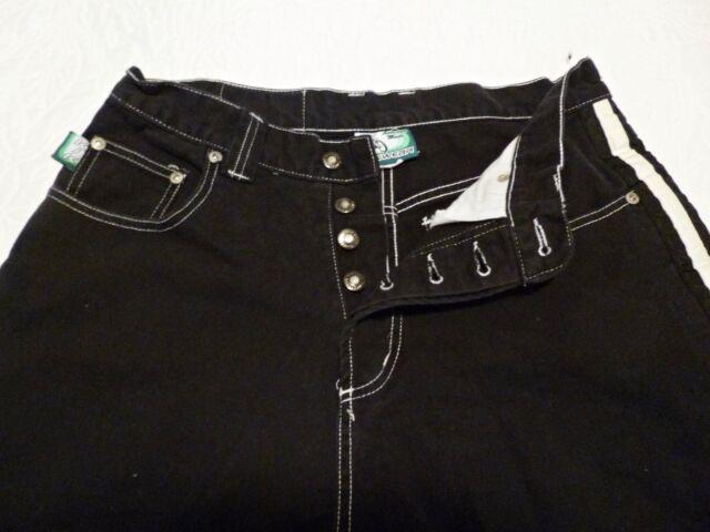 Kikwear 90's Wide Leg JNCO Skater Raver Style Jeans