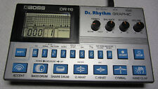 Boss DR-110 vintage analog Drumcomputer Dr. Rhythm Graphic - Roland Sounds top!