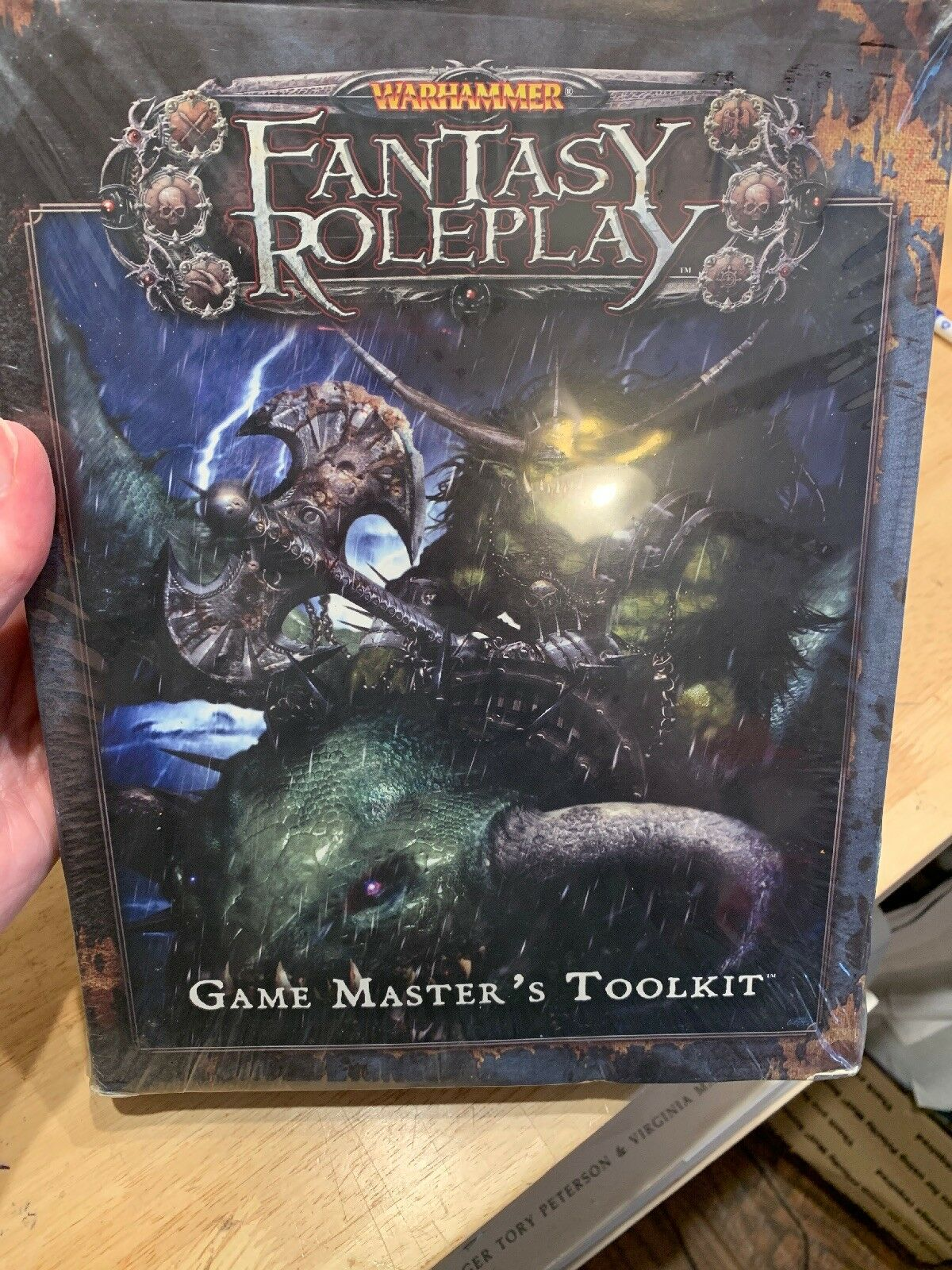 Warhammer Fantasy Role-Play Game Masters Tool Kit New