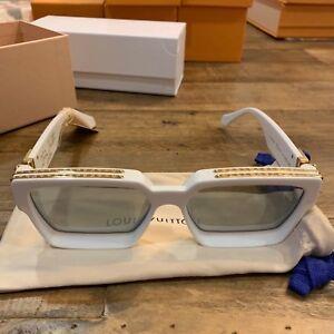 2e8d7ccb0e Image is loading Louis-Vuitton-X-Virgil-Abloh-Millionaire-Sunglasses-WHITE-