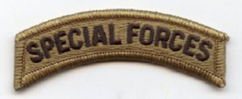 US ARMY Special Forces Tab patch ACU Multicam Scorpion Tan499 Uniform