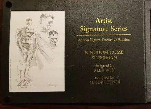 SUPERuomo 2004 Alex Ross AUTOGRAFO ETERNO artista Signature Series 174750